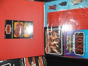 $ VTG~1977~1981~1982~Kenner~Star~Wars~vinyl~RED~TRAY~action~figure~case~card~lot