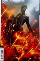 Batman #95B Mattina Variant NM 2020 cardstock cover amazing condition! Joker War