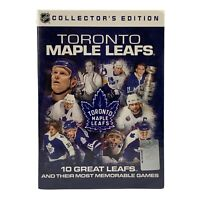 NHL Toronto Maple Leafs: 10 Great Leafs and their most Memorable Games (DVD, 200