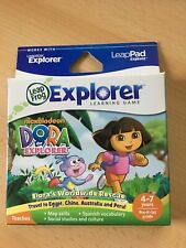 New Leap Frog Leapster Leappad Explorer Game Dora The Explorer Ages 4-7 Years