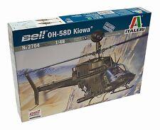 Italeri 2704. Maqueta de helicóptero OH-58D Kiowa. Escala 1/48