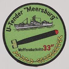 """Marine Patch Patch U-Boot tender """"mar castillo"""" armas sección 33er... a3703"""