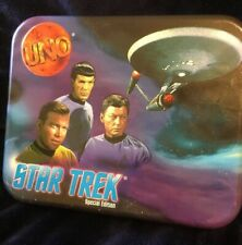 Collectible Tos Star Trek Special Edition Uno Cards Set (1999) Used