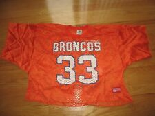 MacGregor Sand-Knit DENVER BRONCOS No. 33 TONY DORSETT??? (XL) Practice Jersey