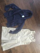 school uniform Dickies size 8 with old navy sweater