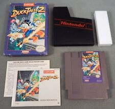 DUCKTALES 2 COMPLETE CIB ~ Authentic ~ 1993 NES Nintendo TESTED WORKS Duck Tales