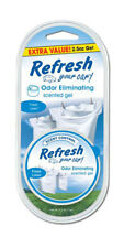 Refresh Your Car 2.5 oz Scented Gel Car and Home Air Freshener Fresh Linen Scent