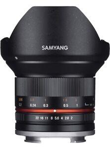 Samyang 12mm f/2.0 NCS CS Lens for Sony e-Mount Black