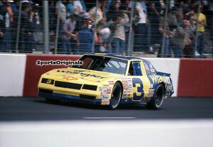 DALE EARNHARDT, SR- NASCAR - DARLINGTON - 1987  - Original 35mm Color Slide