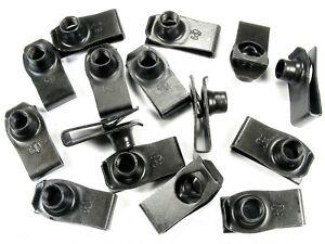 15 pcs U-nut Clips- M8-1.25 Thread- 20mm Center of Hole to Edge- G#195