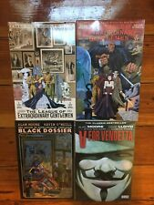 Alan Moore Graphic Novel Tpb Lot League Extraordinary Gentlemen V for Vendetta