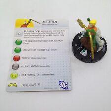 Heroclix Justice League New 52 set Aquaman #005 Common figure w/card!