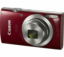 Canon ixus 185 Compact Camera - Red (IXUS 185)