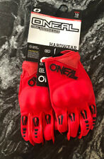 Red O'Neal Hardwear Iron Mens ATV Off Road DirtBike MX Motocross Gloves NWT