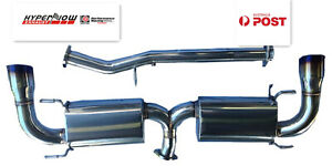 """2003-2007 Mazda RX8 Performance Cat-Back Exhaust; 3"""" Stainless; titanium tips"""