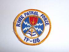 b7287 US Navy Vietnam River Patrol Force TF 116 Boat PBR Brown Water mchn IR27D