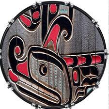 "Custom 22"" Kick Bass Drum Head Graphical Image Front Skin West Coast Art"