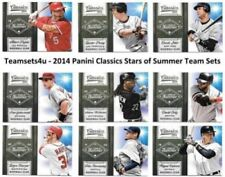 Cromos de béisbol de coleccionismo temporada 2014