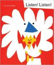 Listen! Listen! by Ann Rand and Paul Rand (2016, Hardcover)  NEW Price  !!!