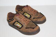 RARE ~ DON ED HARDY 7829 CLUB Designer Leather TIGER Sneakers Size 8 Women's EUC