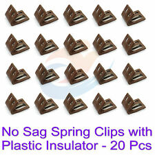 20pcs No-Sag Furniture Upholstery Spring Clips with Plastic Insulator