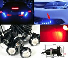 Red 10x 5W COB LED DRL Puddle light Under Car Bumper projector HK K