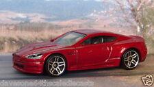 ASTON MARTIN DBS 1:64 (Dark Red) Hot Wheels MIP Diecast Passenger Car
