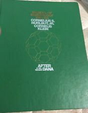 Manual of Mineralogy 19th ed Hurlbut Klein 1977