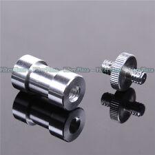 "3 in 1 1/4"" 3/8"" screw 5/8"" Spigot convert Adapter for Camera Tripod Light Stand"