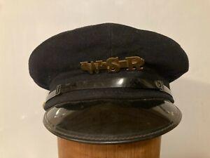 West Somerset railways  Vintage Railway Rail Hat Cap, size 59cm uk7
