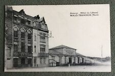 CPA. MALO TERMINUS. 59 - Annexe. Hôtel du Littoral. Holbet.