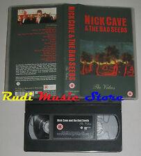 VHS NICK CAVE &  THE BAD SEEDS Videos 1998 MUTE RECORDS MF030 no cd mc (VM2)