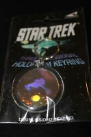 Star Trek Hologram Keyring - Klingon Battle Cruiser
