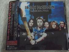 IRON MAIDEN-The Wicker Man JAPAN 1st.Press w/OBI Japan CD Extra Judas Priest