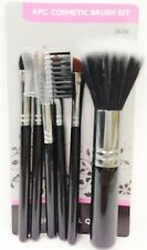 """BLOSSOM 6 PIECE COSMETIC MINI BRUSH KIT BRUSHES ABOUT 4.5"""" LONG MAKEUP #38206"""