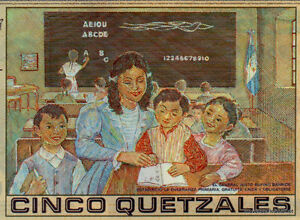 GUATEMALA BILLET 5 QUETZALES  POLYMER  NOUVEAU UNC NEUF