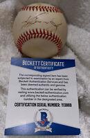 Ken Griffey Jr. Authentic SIGNED Autographed VINTAGE ONL Baseball BECKETT COA