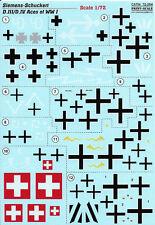PRINT SCALE DECALS SIEMENS-SCHUCKERT D.III/D.IV 1/72 *FREE POSTAGE WITH KIT*