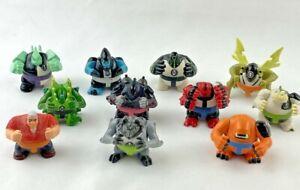 Ben 10 Sumo Slammers Mini Figures Lot of 11 Bandai Cartoon Network