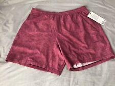 "Brand New Mens Lululemon XL Linerless Pace Breaker Shorts Cherry Red 7"" Inseam"