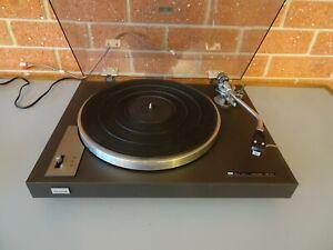 Sansui Turntable. SR-222 with NEW Stylus & Belt. Upper End Vintage