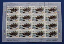 Canada (CN18) 2002 Wildlife Habitat Conservation Stamp Sheet (MNH)