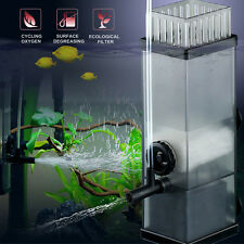 5W 300L/H Aquarium Surface Skimmer - Filter Pump Plant Freswater Marine Oil