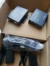 NEW VGA Extender Complete Kit 300M 1000ft UTP LAN RJ45 CAT5e CAT6 with Audio