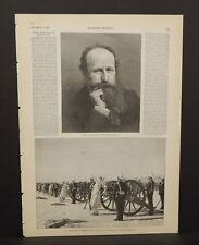 Harper's Weekly 1Pg An Execution in British India 1888 B6#12