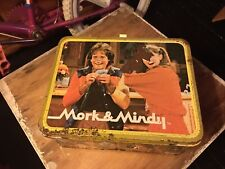 Vintage Mork & Mindy Lunchbox without Thermos 1979