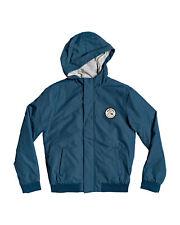 NEW QUIKSILVER™  Boys 8-16 Choppy Impact Hooded Jacket Boys Children Sweatshirt