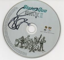 FRANCIS ROSSI Signed CD STATUS QUO COA