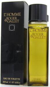 Roger Gallet L'Homme 200 ml EDT / Eau de Toilette Splash