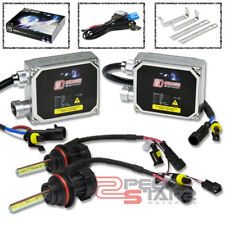 3000K YELLOW HID XENON CONVERSION+9007 BULBS HIGH+LOW BEAMS/LIGHT+THICK BALLAST